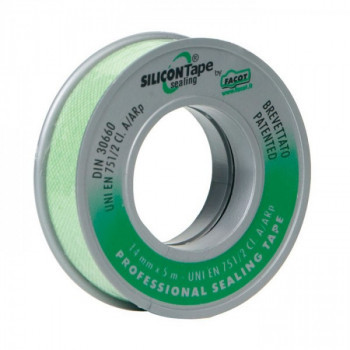 Уплотнительная лента двухсторонняя Silicon tape 19мм х 15м  Facot