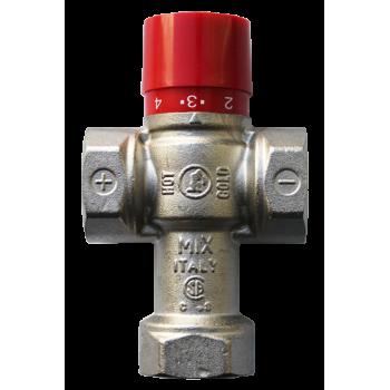 "R156 Термосмесительный клапан 1"" 38-60C Kv2,2  Giacomini"