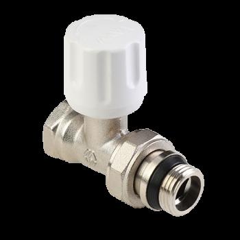 """TR.213 Клапан ручной регулировки с самоуплотнением 1/2"""" прям.  MVI"""
