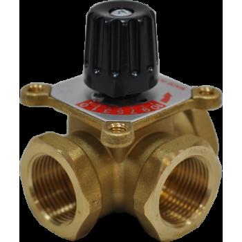 """460 Смесительный поворотный клапан  1""""МММ, Kv12  Barberi"""