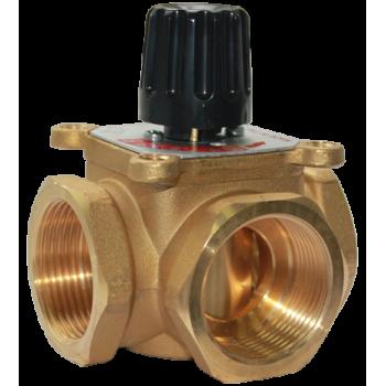 """460 Смесительный поворотный клапан 1,25""""МММ, Kv18  Barberi"""